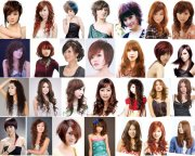 美发发型图