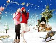 圣誕節 冬季
