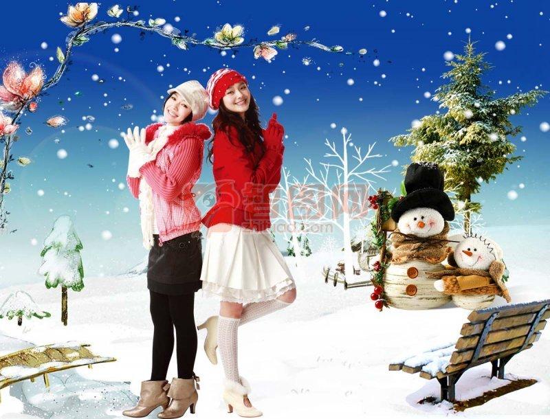 圣诞节 冬季