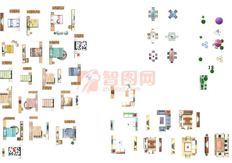户型图 家具