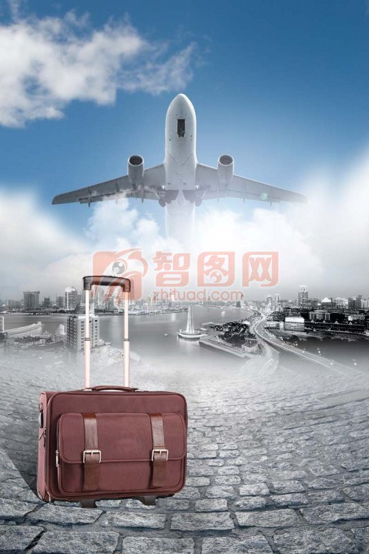 广告 旅行 飞机