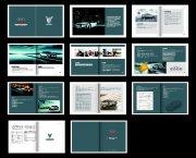 汽车画册版式设计