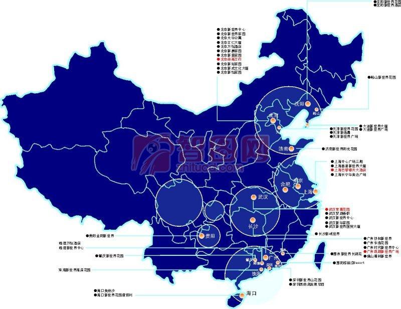 地图中国地图