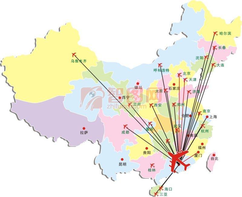 【cdr】中国地图