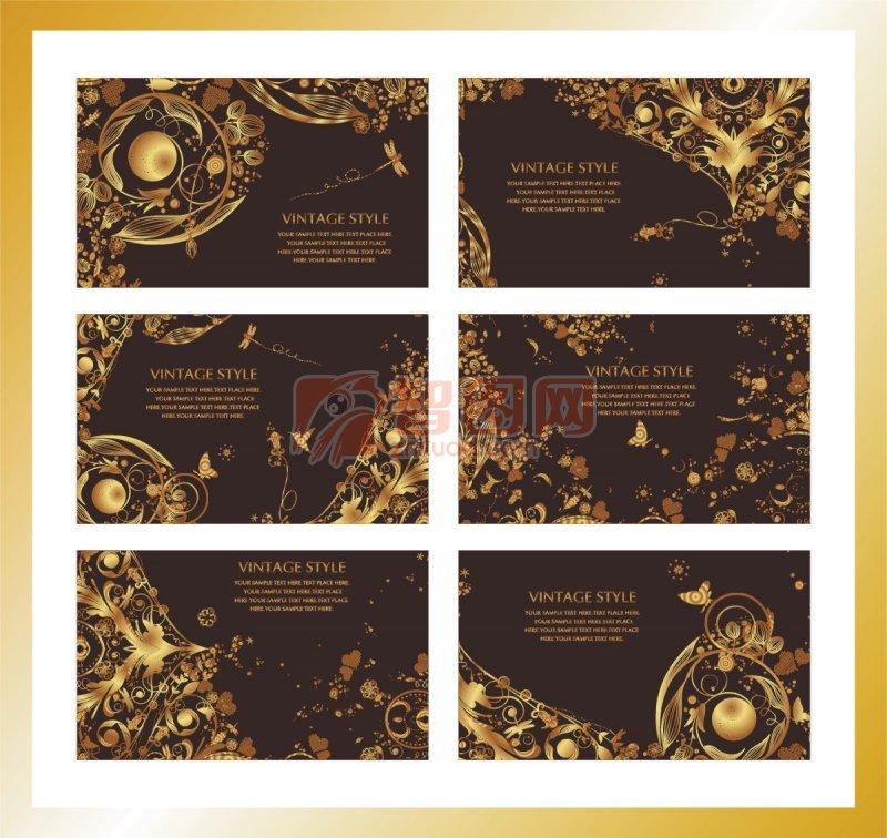 花纹设计展示 下一张图片:欧式花纹素材