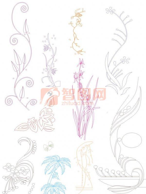 【cdr】花纹设计