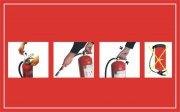 灭火器使用方法海报设计
