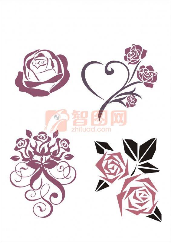 关键词: 玫瑰花 艺术玫瑰 高雅玫瑰 玫瑰花元素 玫瑰花朵素材 粉红色