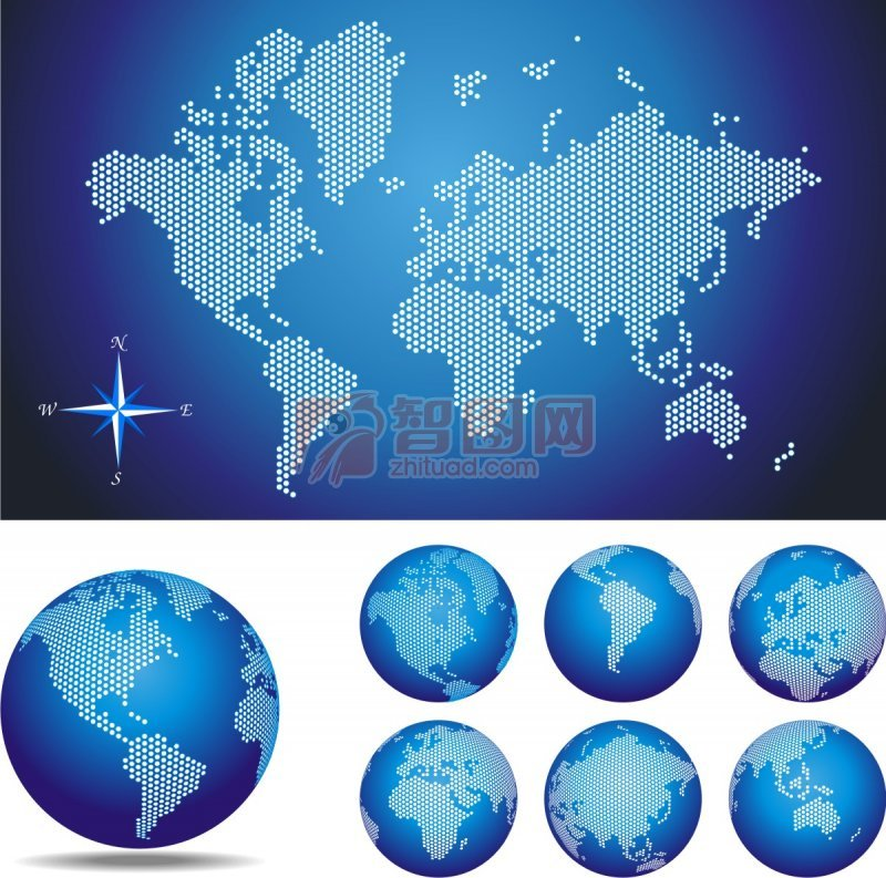 首页 矢量专区 广告设计 海报设计  关键词: 说明:-世界地图点阵图 上