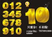 数字黄金立体字海报设计