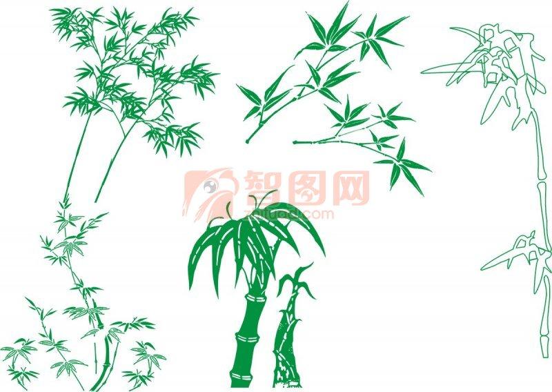 幼儿园绘画竹子