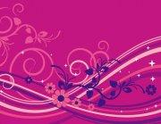 紫紅色背景元素