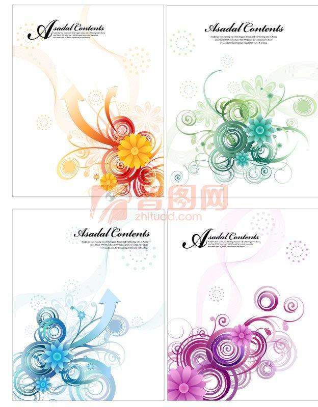 花纹画册 花纹素材元素