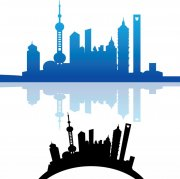 城市剪影畫冊宣傳
