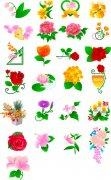 韓國花卉素材