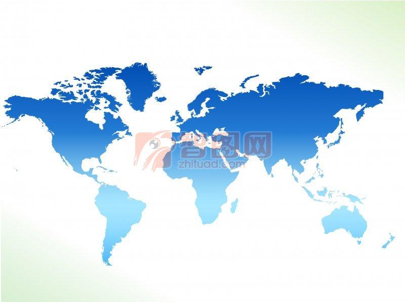 【ai】世界地图海报设计