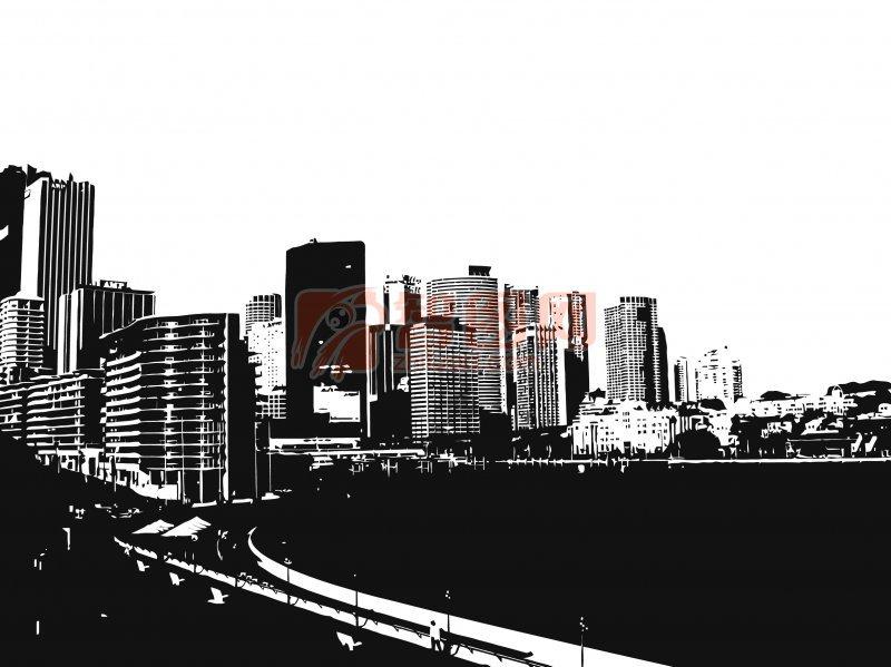 下一张图片:城市剪影海报设计素材