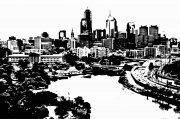 城市剪影建筑