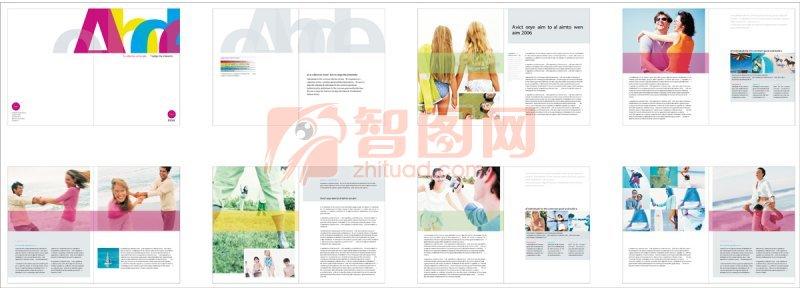 旅游类画册版式 旅游宣传画册设计