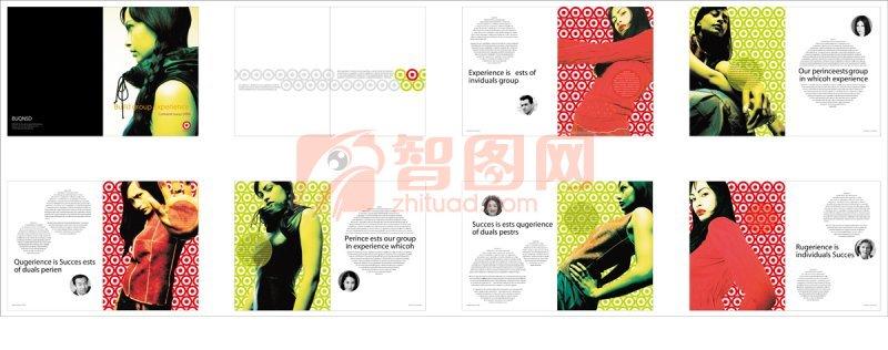 黑色背景主题素材画册 时尚女模特元素 上一张图片:   财富前沿杂志