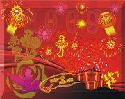春节宣传海报设计素材