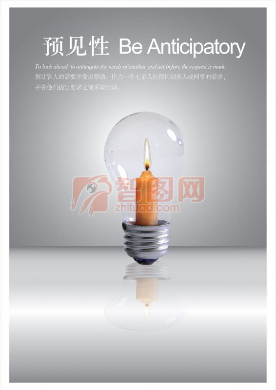 灯泡里的蜡烛