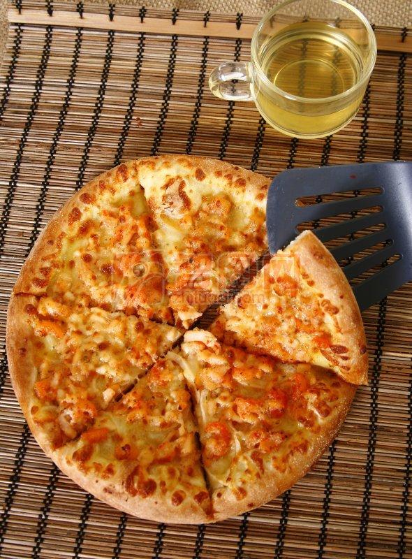 蝦仔燒烤比薩