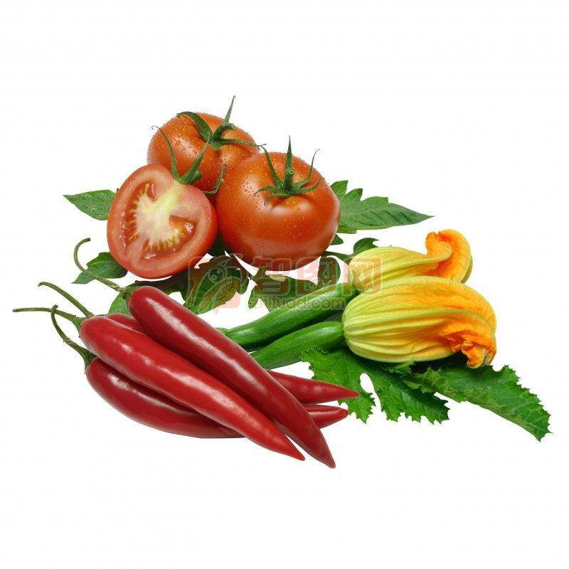 【psd】分层蔬果 西红柿素材 创意模板 西葫芦素材 摄影图片下载