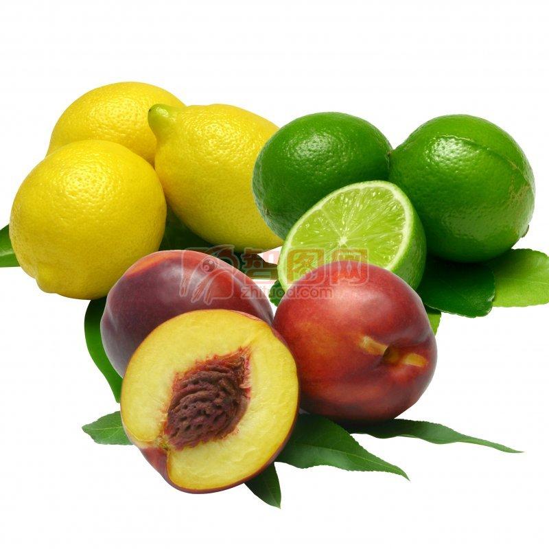 高清绿色水果