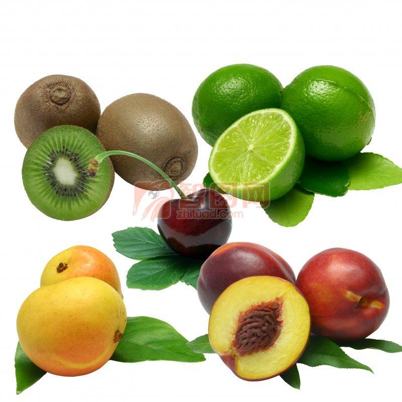 各类扣好的蔬果
