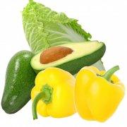 蔬菜分層圖片