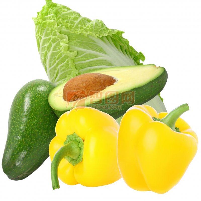 蔬菜分层图片
