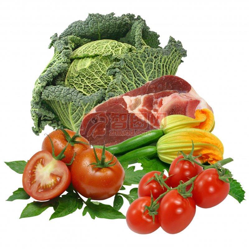 蔬菜 肉類