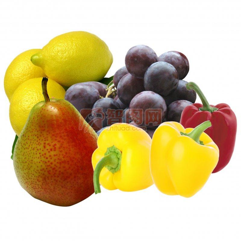 分层水果素材