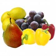 分層水果素材