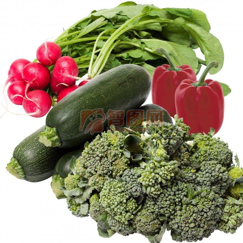 高清分層蔬菜素材