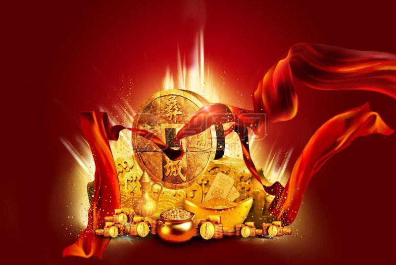 金幣海報宣傳