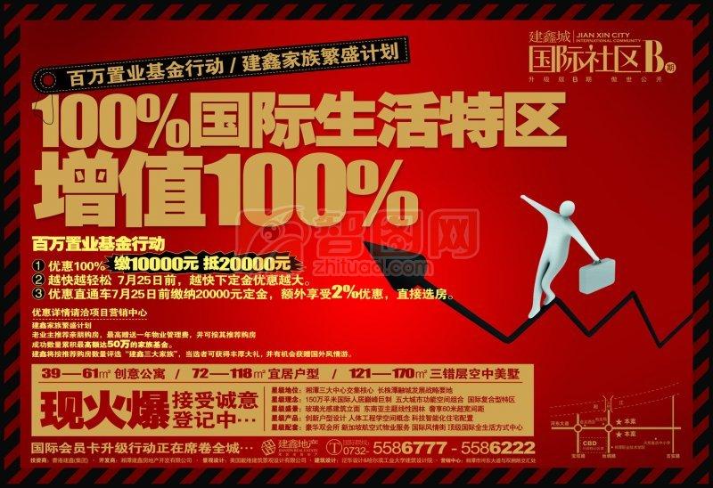房地產宣傳海報