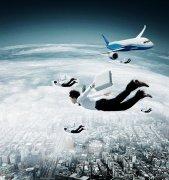 飛翔的人們海報