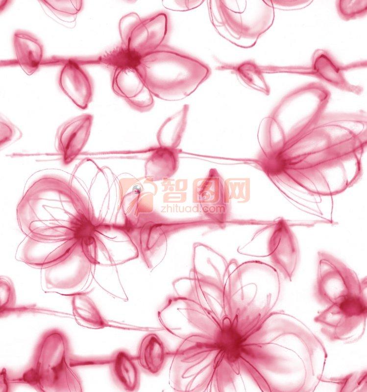 绘画花纹 手描 花纹 花纹设计 花边花纹 花朵 绘画 幼儿园绘画 绘画