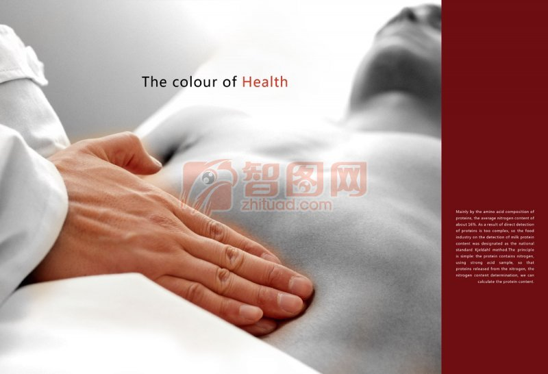 the color of health 海報設計