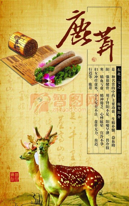 鹿茸醫藥廣告
