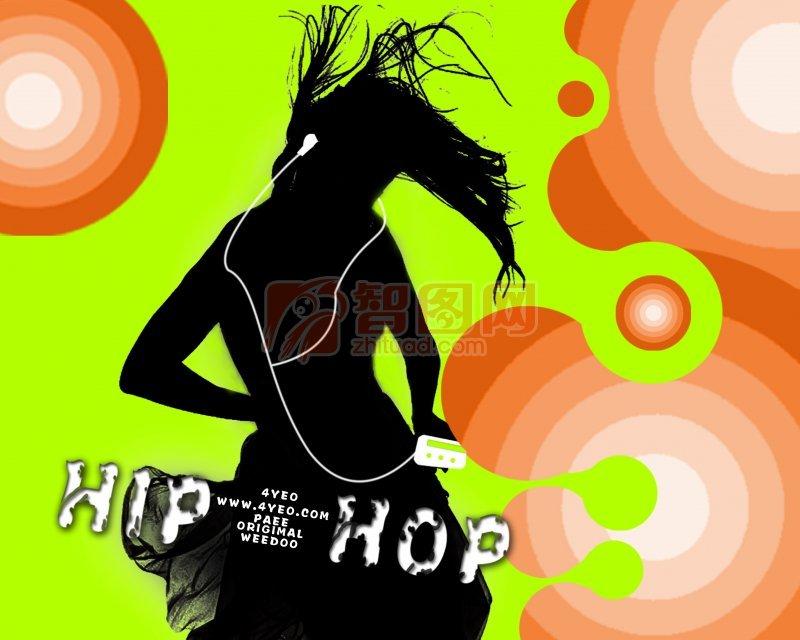 MP3海報設計