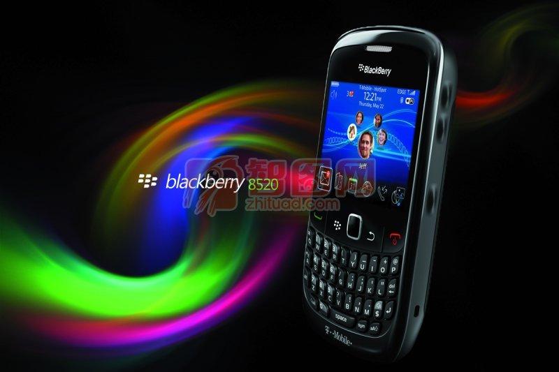 blackberry8520海報設計