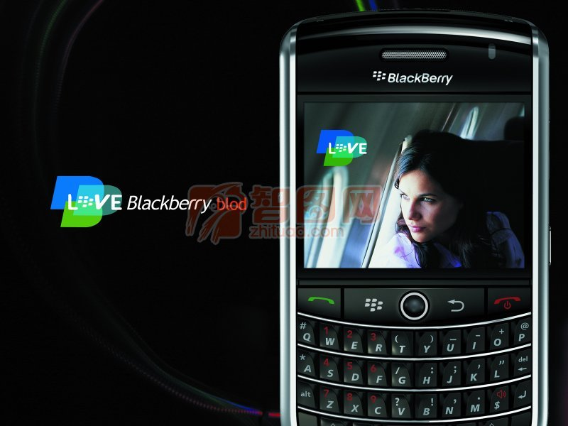 blackberry手機海報