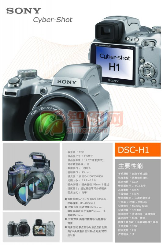 sony宣傳單
