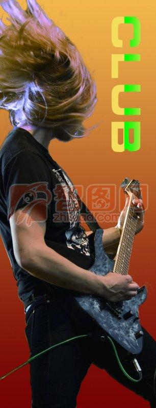 彈吉他的男孩