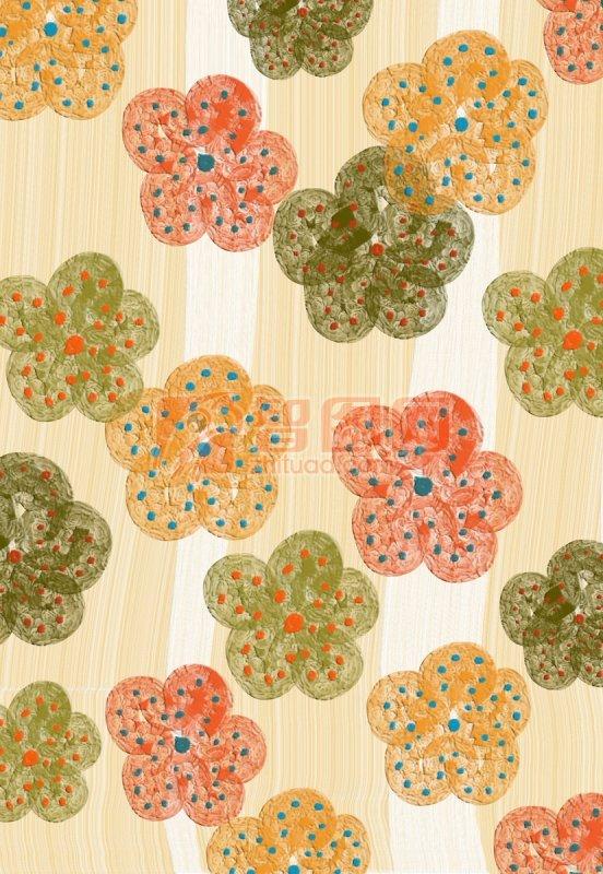 花朵花紋背景