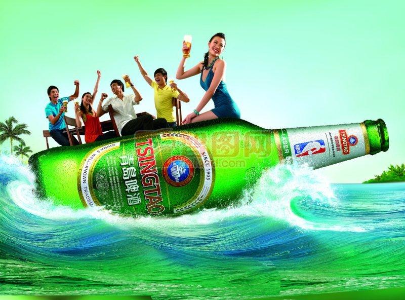 首页 ps分层专区 广告设计 海报设计  关键词: 说明:-青岛啤酒 上一