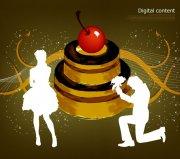 蛋糕海报设计